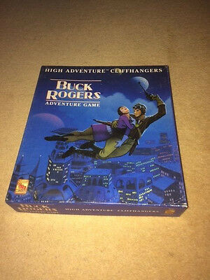 "Buck Rogers Adventure Game, TSR, ""High Adventure Cliff Hangers"", complete box"