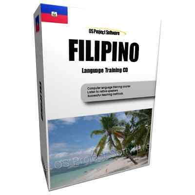 Learn to Speak FILIPINO TAGALOG - Complete Language Text Audio Training Course