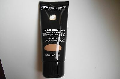 Dermablend Leg and Body Cover with SPF 15 Sunscreen NATURAL 3.4 fl oz (100 ml)