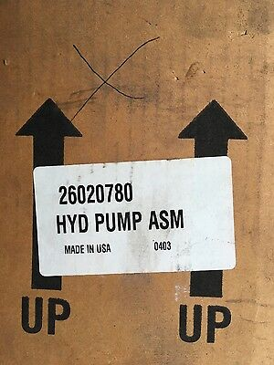 Workhorse Power Steering Pump Assembly 26020780 New Hydraulic Pump ASM Chevy GM