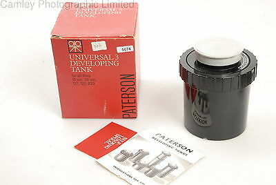 Paterson Universal 3 Developing Tank for 120 127 35mm. Condition – 3E [5674]