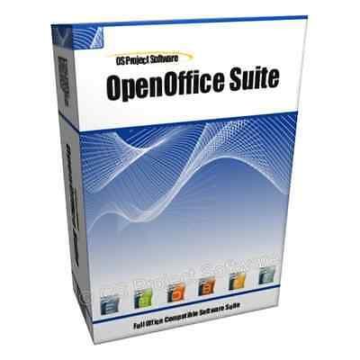 Open Office 2016 (Word & Excel Compatible) Starter Type For Microsoft Windows