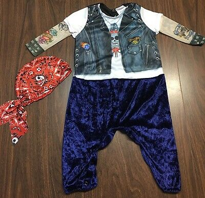 Baby Born To Be Wild Halloween Costume Infant/Baby Size 12-18 Months