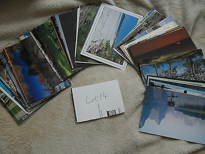 Postcards TOPOGRAPHICAL 100 items LotN14