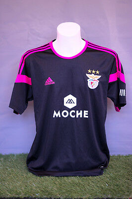 Benfica Football Shirt Adult L Away 14/15 Adidas Soccer Jersey Camesita