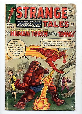 Strange Tales #116    Human Torch and The Thing