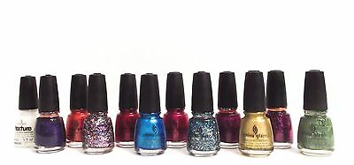 China Glaze Nail Polish Color ANCHORS AWAY Collection Variations # 945-955