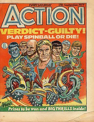 ACTION comic 17th September 1977