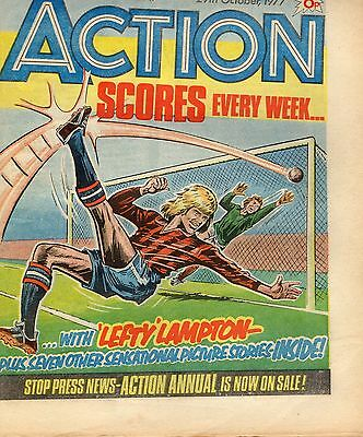 ACTION comic 29th October 1977