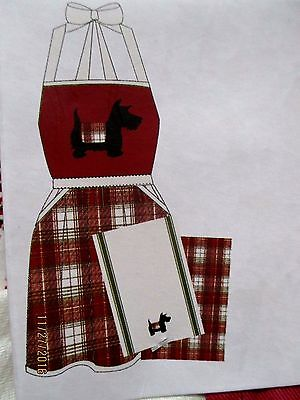 Scottie Apron & Towel Set New With Tag Scotty Scottish Terrier