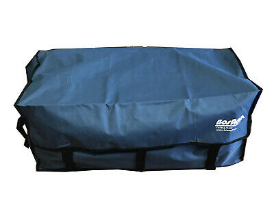 BLUE VELCRO HAY BALE BAG Carry Storage Water Ski Wake Board Camping Horse Riding