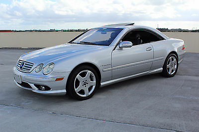2003 Mercedes-Benz CL-Class Luxury Sports Coupe 2-Door 2003 Mercedes-Benz CL55 AMG Luxury Coupe 2-Door 5.4L Kompressor Supercharged