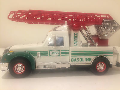Hess RescueTruck with Ladder  1994 lights, sirens, flashers all work.