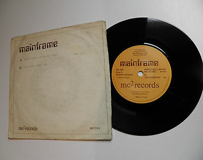 "Mainframe-Radio/The Room-UK Vinyl 7""-DIY Minimal Synth Wave Private-1983-HEAR"