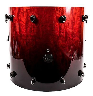 """Mapex Saturn V Bass Kick Drum, 22 x 20"""", Red Strata Pearl, MISSING HOOPS/HEADS"""