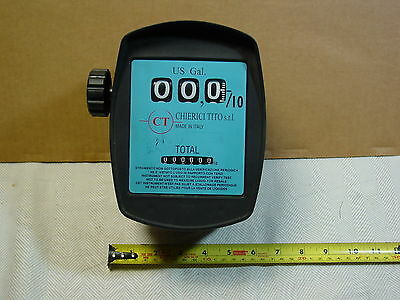 Diesel fuel FLOW METER & for liquids NEW! Measures Gallons, Chierici Tito s.r.l.
