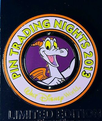 Pin Trading Night Figment Disney Pin WDW LE 750 OC Spinner