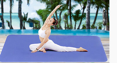 """Yoga Mat Extra Large & Wide 6 ft x 4 ft Brand New! (72"""" x 48"""") Yoga/Pillates"""