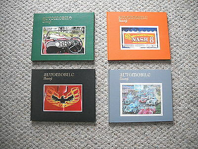 Lot Of 4 Vintage 1977 Issues Of The Automobile Quarterly - Full Year