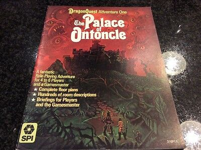 DRAGONQUEST ADVENTURE ONE The Palace of Ontoncle 1980