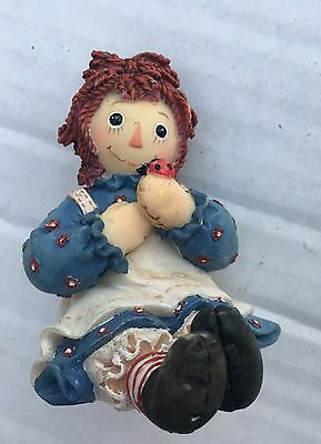 Raggedy Ann & Andy Spend Life In Kindness Making New Friends Enesco Figurine