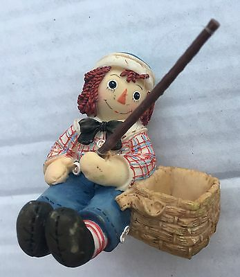Raggedy Ann & Andy Joy And Love Are Truly Catching Enesco Schuster