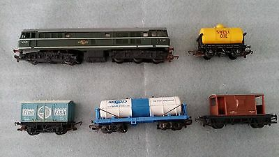 Old Triang Hornby Train Set
