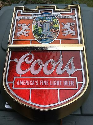 Coors Old Beer Sign