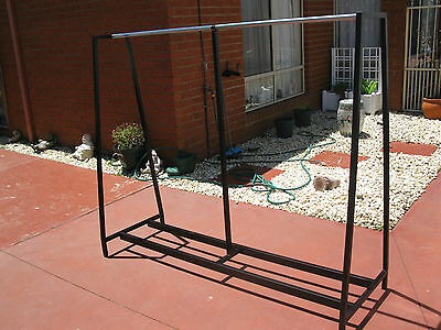 Commercial Grade Clothes Rack Suit Factory/shop Etc. Good Size Stable & Strong