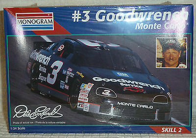 1/24 Revell 1995 Dale Earnhardt #3 Goodwrench Monte Carlo