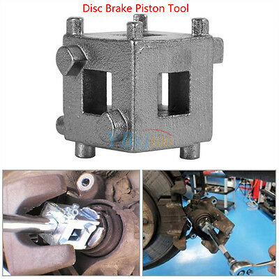 "Auto Car Vehicle Rear Disc Brake Piston Caliper Wind Back Cube Tool 3/8"" Durable"