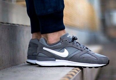 Mens Nike Air Pegasus New Racer Cool Grey Trainers Size UK 8.5 100% authentic