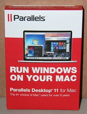 Parallels Desktop 11 for Mac - Product Key Card, New in Box, Trusted US Seller