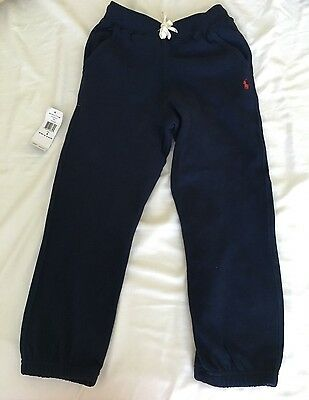 Ralph Lauren Polo Sweat Pants Kids Size 6 Brand New With Tags!
