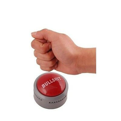 44028 Bullshit Button With Phrases & Responses Novelty Joke Tell It Like It Is