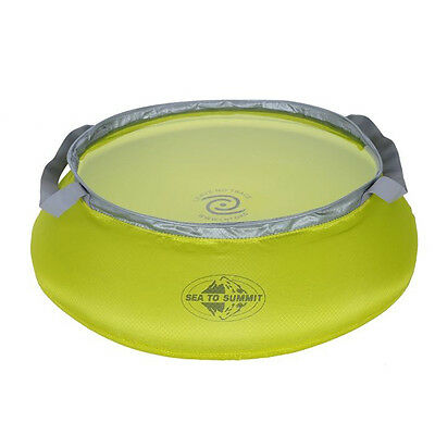 [Sea to Summit] Ultra-Sil Kitchen Sink 10L Litre, Lime Super Compact packed Size