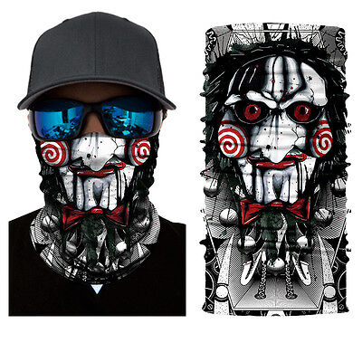 Twisty Jester Joker Face Shield Sun Mask Motorcycle Forest Balaclava Neck Gaiter
