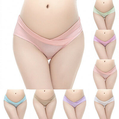 Low-waist Pregnant Panties Maternity Lingerie Pregnancy Women's Underwear Briefs