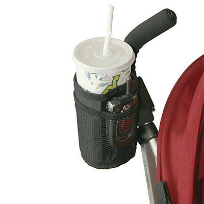 Baby Stroller Bag Mug Cup Holder Bottle Pram Buggy Bicycle Parent Console Witty