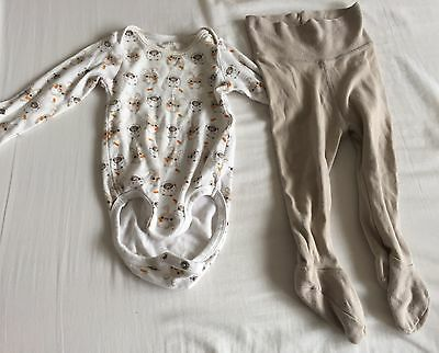 H&M Baby Boys Or Girls 2 Pieces Long Sleeves And Legging Set 4 Months-6 Months