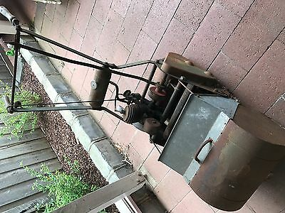 Vintage Self Propelled Reel mower and catcher - suit collector or enthusiast