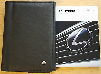 Lexus Gs Hybrid User Guide Handbook Owners Manual Wallet 2014-2015 Pack 9527