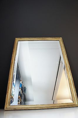 gilded bevelled vintage mirror BUYER MUST COLLECT FROM SURRY HILLS NSW