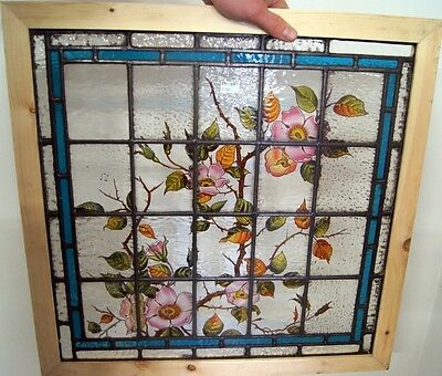 Beautiful Vibrant Painted Stained Glass Windows