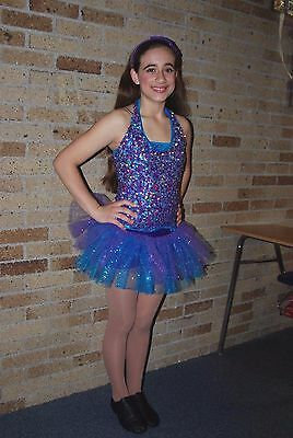 Jazz Sequin Purple, Turq, Pink-Adult sz Sm (child age 10-12) Headband&Cuffs Incl
