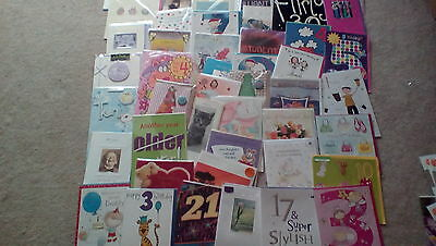job lot of 60 birthday /occasions cards