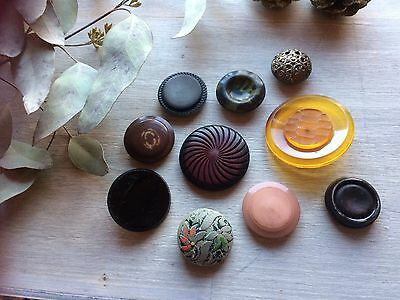 Large Vintage Buttons Mix For Crafts