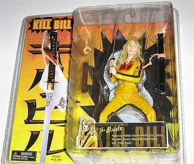 KILL BILL The Bride NECA Quentin Tarantino bloody ACTION Figur SNOW BASE 18cm 7""