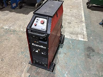 Kemppi Kempomat 3200 300A Compact Mig Welder 4 Roll Drive 415V 3 Phase