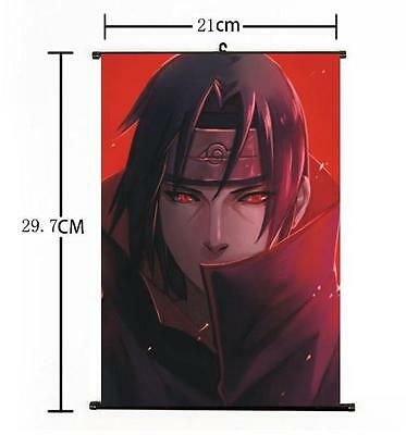 "Hot Japan Anime Uchiha Itachi NARUTO Poster Wall Scroll Home Decor 8""×12"" 001"